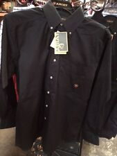 Mens ARIAT long sleeve shirt, RED, BLACK and WHITE Available!!