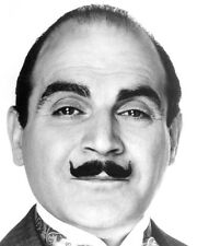 AGATHA CHRISTIE: POIROT DAVID SUCHET FACIAL PHOTO OR POSTER