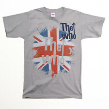 OFFICIAL The Who - Union Jack Logo T-shirt NEW Licensed Band Merch ALL SIZES