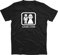 STAG PARTY - GAME OVER II Wedding Marriage T-Shirt T-Shirt S-XXXL new