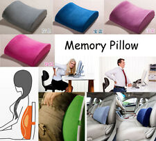 Home Office Car Seat Chair Health Memory Lumbar Back Support Cushion Pillow Sofa