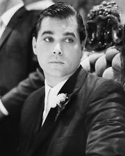 RAY LIOTTA IN SUIT FROM GOODFELLAS B&W PHOTO OR POSTER