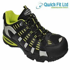 MENS SAFETY TRAINERS SHOES BOOTS WORK COMPOSITE TOE CAP SIZE 5-11 UK LADIES