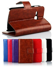 ID Card PU Wallet Flip Cover Stand B Case For Samsung Galaxy Young S6310 S6312