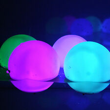 Flashing LED RGB color changer Balls for Mood Light Garden pool ponds parties 3""