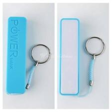 Mobile Power Bank USB 18650 Battery Charger Key Chain Portable for iPhone MP3 WS