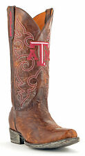 Gameday Boots Leather Texas A&M Board Room Cowboy Boots