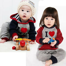 1PCS NEW Baby Kid Hooded Romper Long Sleeve Jumpsuit Outwear Clothing outfit Set