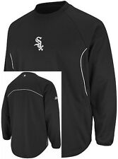 Chicago White Sox Majestic Authentic Therma Base Tech Fleece Big & Tall Sizes