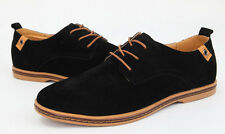 11 Size Fashion 2014 Suede European style leather Shoes Men's oxfords Casual