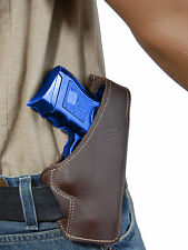 New Barsony Brown Leather Pancake Gun Holster for Smith&Wesson Compact 9mm 40 45