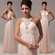 2014 Unique Style! Sexy Lace Long Bridesmaid Evening Party Ball Gown Prom Dress
