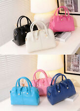 Occident Popular fashion Smiling face sweet Candy colors handbag