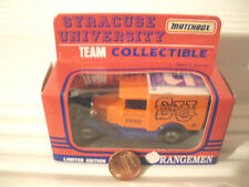 Matchbox 1/64 Scale NCAA College MB38 Model A Ford Superfast Van Nu in Mint Box