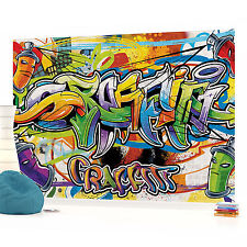 WALL MURAL PHOTO WALLPAPER (1400VEVE) Graffiti Boys Urban Art