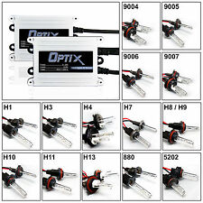 Optix AC 55W Slim HID Light Xenon Kit Choose Size & Color - All Sizes and Colors