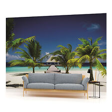 Beach Walkway Photo Wallpaper Wall Mural (CN-891VE)