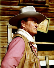 CHISUM JOHN WAYNE ICONIC POSE IN PROFILE CLASSIC WESTERN PHOTO OR POSTER