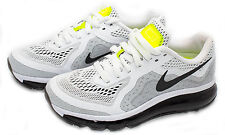 Nike Air Max 2014 Women's Running Shoe White/Black 621078-100 Sz 6-8