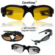 New Upgrade built in 4GB wireless Sunglasses Headphone Headset MP3 PLAYER
