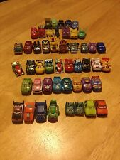 Disney Pixar Cars Micro Drifters GOLD FRANCESCO Chick McQueen Spy Mater Lewis
