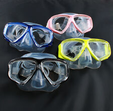 Panoramic Silicone Purge Mask with side view windows for Scuba Diving Snorkeling