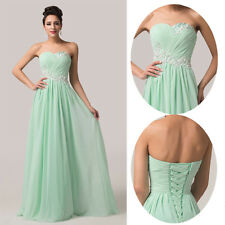 New Long Evening Formal Cocktail Party Ball Gown Prom Bridesmaid Pageant Dress