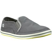 Timberland Men's Earthkeepers Casco Bay Gray Canvas Slipon Shoes Style #5225A
