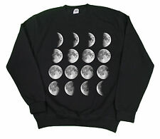 MOON PHASES SPACE NASA SWEATSHIRT HIPSTER JUMPER SWAG DOPE BRIAN COX SWEATER TOP