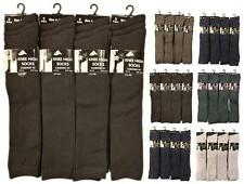 6 Pairs Of Ladies Girls Knee High Socks, Long School Socks, All Sizes & Colours