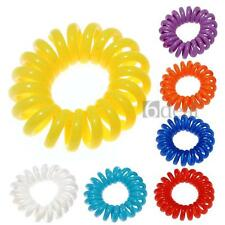 Telephone Line Hair Ring Ties Hairband Rope Ponytail Holder Elastic