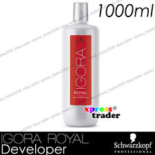 Schwarzkopf Professional IGORA ROYAL Creme Developer Hair 1000ml