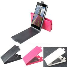 """Fashion Flip Leather Case Cover Skin For 5"""" Doogee Turbo DG2014 Smartphone U-D"""