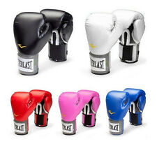 Cool Unisex Everlast Style Boxing Training Gloves Combat Fighting Gloves