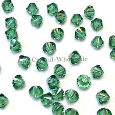 5mm Erinite (360) Genuine Swarovski crystal 5328 / 5301 Loose Bicone Beads