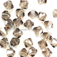 5mm Greige (284) Genuine Swarovski crystal 5328 / 5301 Loose Bicone Beads