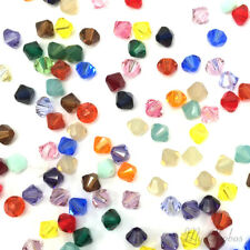 5mm Mix Colors Genuine Swarovski crystal 5328 / 5301 Loose Bicone Beads