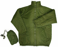BIVVY Thermal Jacket + Bag, Water Resistant,  3 Colours, Army Standards. #66049