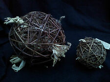 Small Animal Willow Ball Toy-Gnaw-Chew/Rabbit/Guinea Pig/Hamster/Rat/Chinchilla