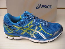 ASICS MENS GT-2000 2 RUNNING SHOES- SNEAKERS - T3P3N -5905-ROYAL/LIMEADE-NEW