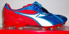 Diadora Kobra K BX 14 SMU Men's Soccer Cleats Metallic Blue/Red/White EUR Size