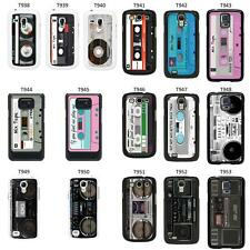 Retro Vintage Tape cover case for Samsung Galaxy S2 S3 S4 S5 Mini - T10
