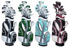 CALLAWAY SOLAIRE GEMS FULL PACKAGE SET 13-PIECE BLACK, EMERALD, TOPAZ, RASPBERRY