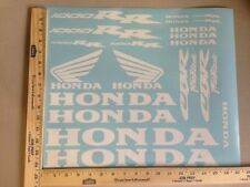 HONDA CBR 1000 RR 1000RR 18 COLORS AVAILABLE DECAL KIT HIGH QUALITY STICKERS