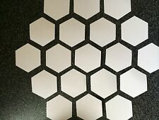 200 HEXAGON PATCHWORK QUILTING PAPER TEMPLATES ALL SIZES TO 3 INCH 90GSM WEIGHT