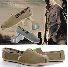 S02 New Womens light ballet Comfy slip Men Casual Flat Solid Canvas Unisex Shoes