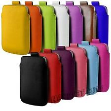 Leather PU Pull Tab Case Cover Pouch For HTC One Mini 2