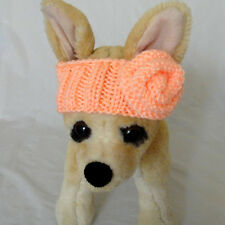 Sale!!!30% Off  Pet Clothes Outfit Hand-Knit  Fancy Headband  for Small Dog