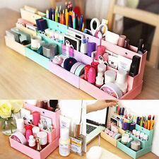 New Paper Cosmetic Organizers Makeup Display Storage Box Cabinet Case Holder