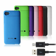 1900mAh Portable External Power Pack Backup Battery Charger Case For iPhone 4 4S